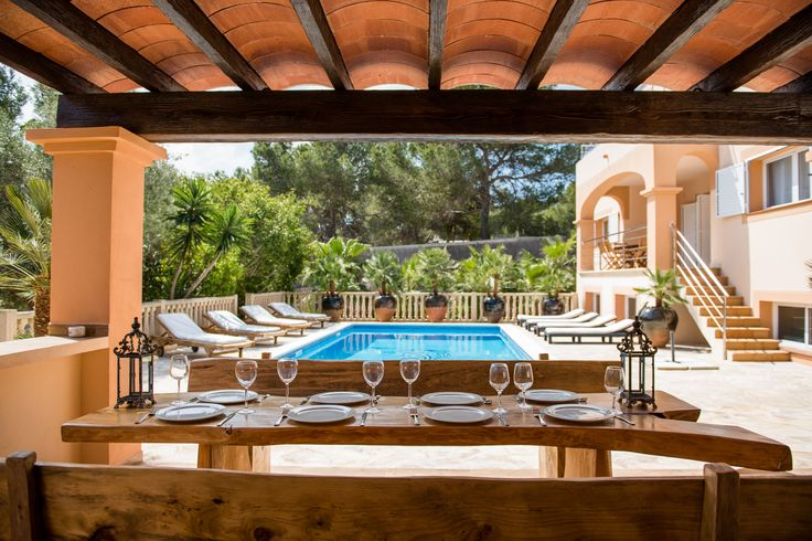 IBIZA HOLIDAY HOME - VILLA MAGENTA .. Here in Ibiza al fresco dining is an all year round privilege, as soon as the sun is out we can dine and wine outdoors wrapped up in the glorious sunshine .. follow this link for more info and photos -- https://www.gvibiza.com/villa-magenta/