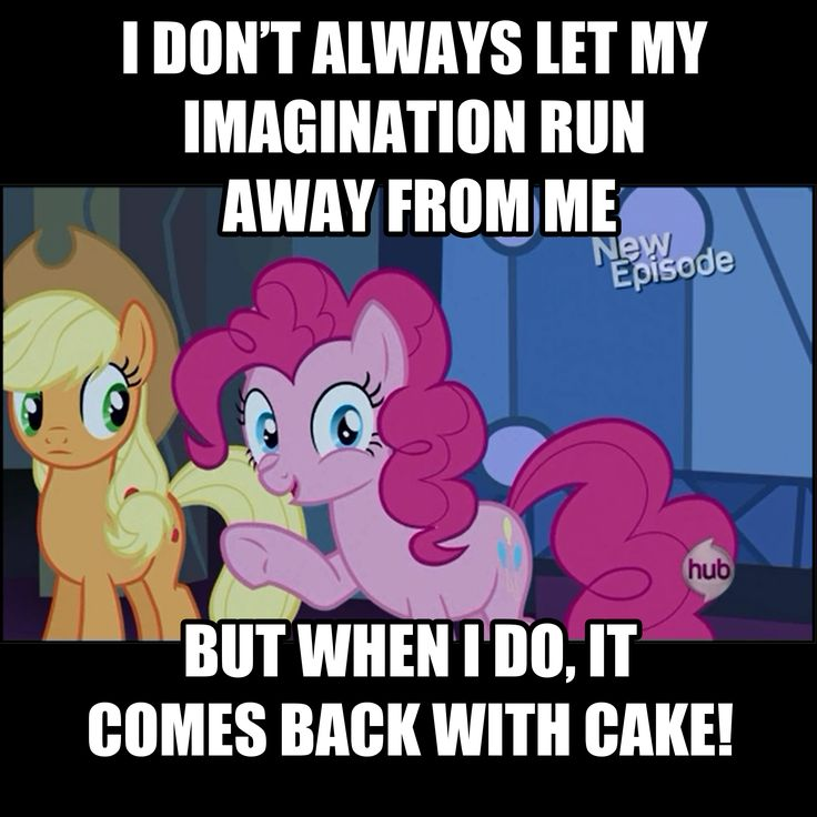 Pinkie Pie's Imagination Meme