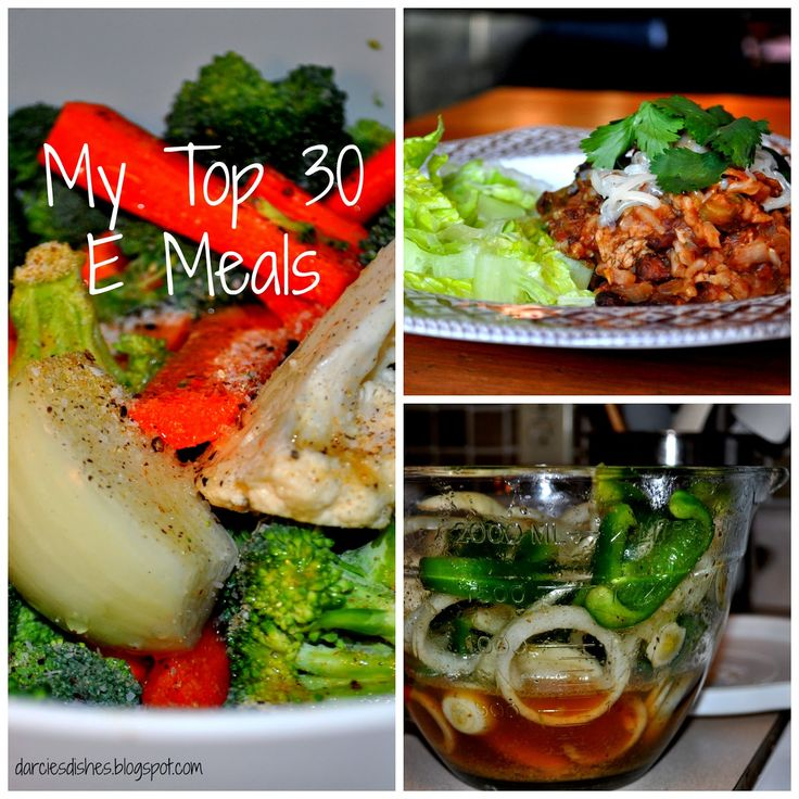 Darcie's Dishes: My Top 30 Energizing (E) Meals #thm #trimhealthymama