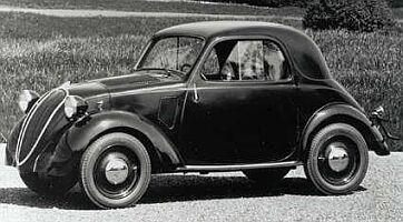Fiat 500 'Topolino' 1936 proyectado por Dante Giacosa