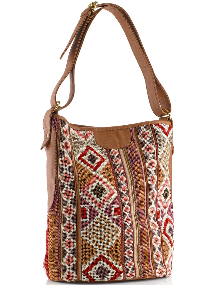 Arizona Beaded Bucket Bag (Accessorize) Wish this went with my clothes but it really doesn't!