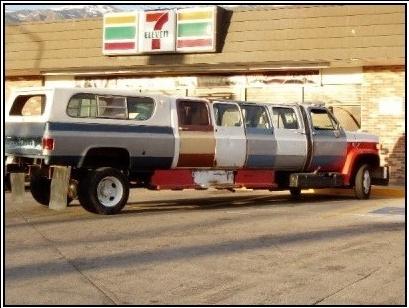 Redneck limousineFunny Image, Laugh, Redneck Limo, Funny Redneck, Funny Stuff, Stretch Limo, Redneck Humor, Red Neck, Funny Fail