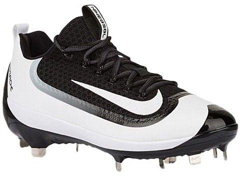 Nike Mens Air Huarache 2kfilth Elite Low Metal Cleats 807129 010 (11 D(M) US)