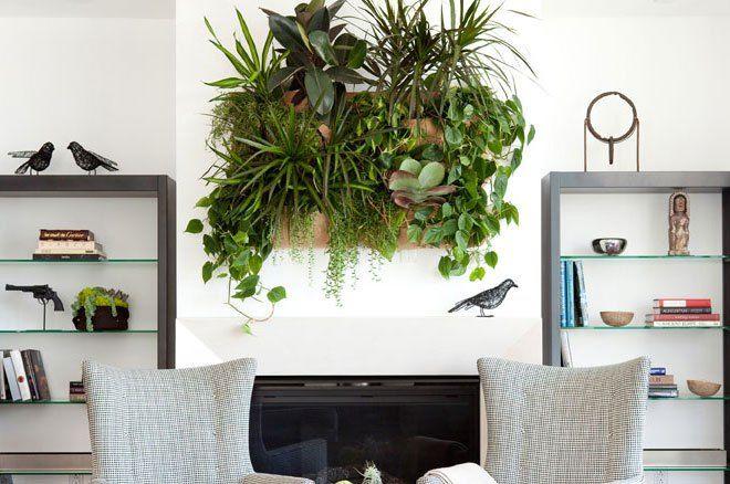 Die besten 25 indoor vertikale g rten ideen auf pinterest au enwand pflanzer wand pflanzer - Wandgarten innen ...