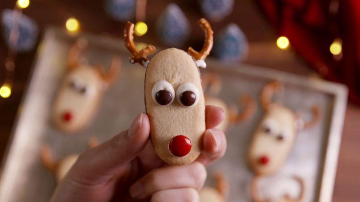 Milano Reindeer Cookies  - Delish.com
