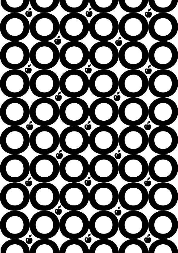 "DTL Nobel, Sjoerd de Roos & Dick Dooijes, 1929. pattern 3 (bn), ""semplice"", .Ho scelto questo pattern per le forme che ha, molto semplici e caratteristiche del font."
