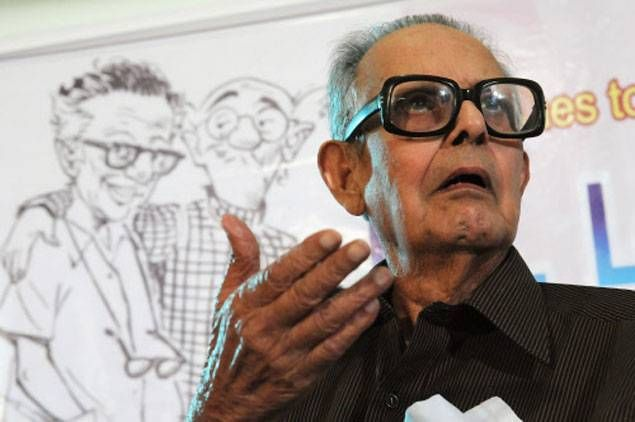 Eminent cartoonist RK Laxman dies at 93 - The Times of India