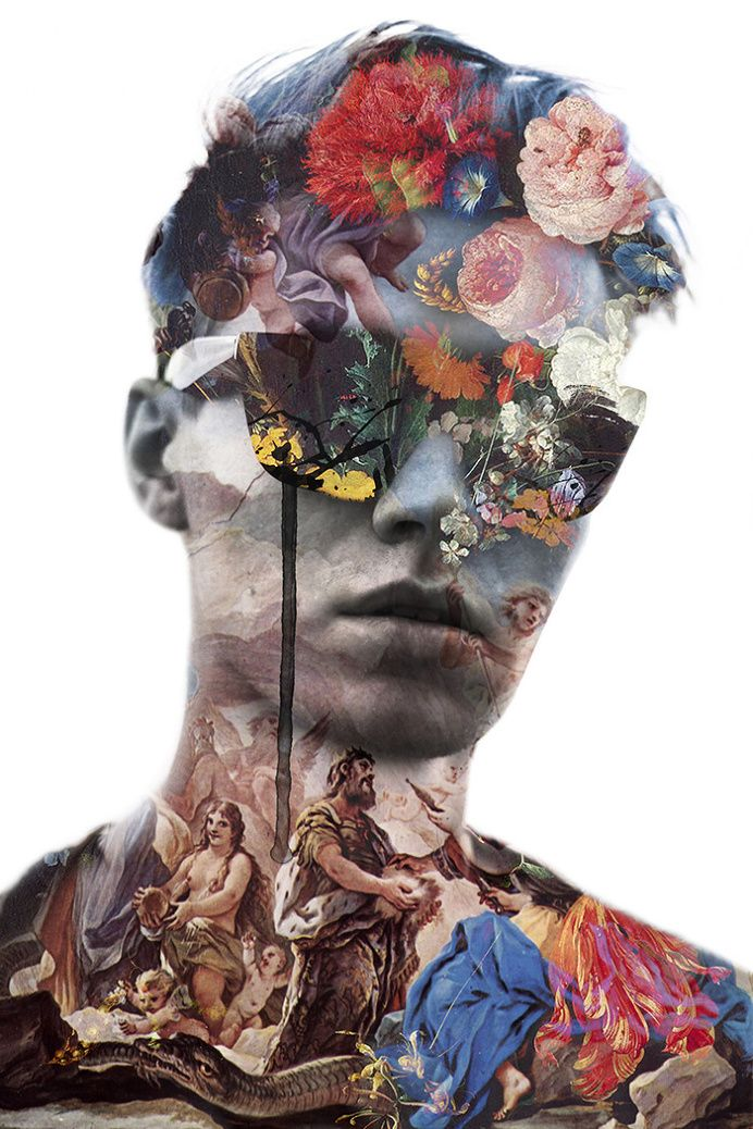Jenya Vyguzov – The Power of Collage in Illustration