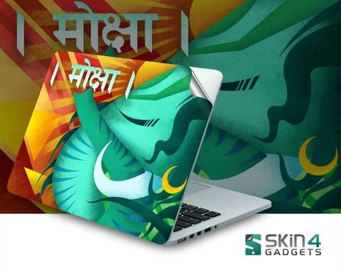 Moksha Laptop Skin For 15 and 15.6 inch