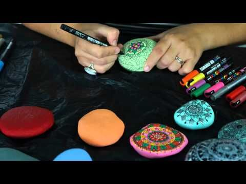 Cómo pintar mandalas en piedras | Notas | La Bioguía