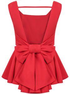 Blusas rojas elegantes 1