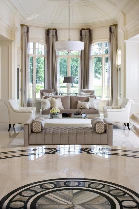 Living Room Marble Floor Design Image Review