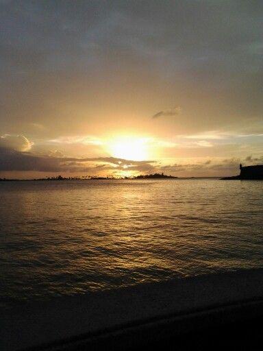 Una maravillosa puesta del sol