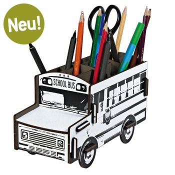 Werkhaus Shop - Stiftebox Schoolbus - You are the artist