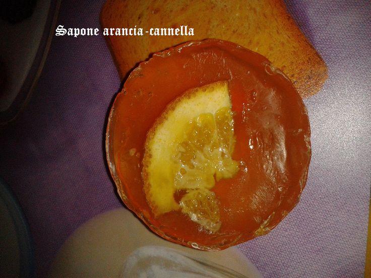 Saponetta Arancia-Cannella (senza soda)