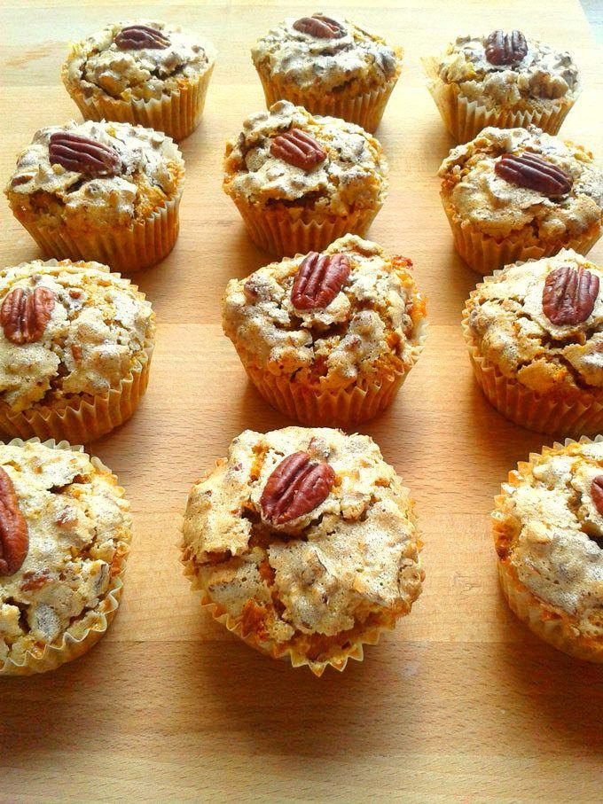 Pumpkin Muffins - One Fool Pie
