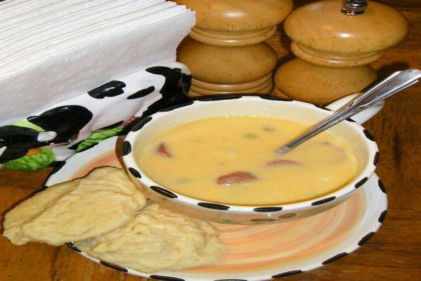 Paleo Sausage 'n Stout Cheese Soup