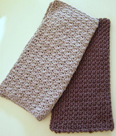 strikkede karklude opskrift - Google-søgning