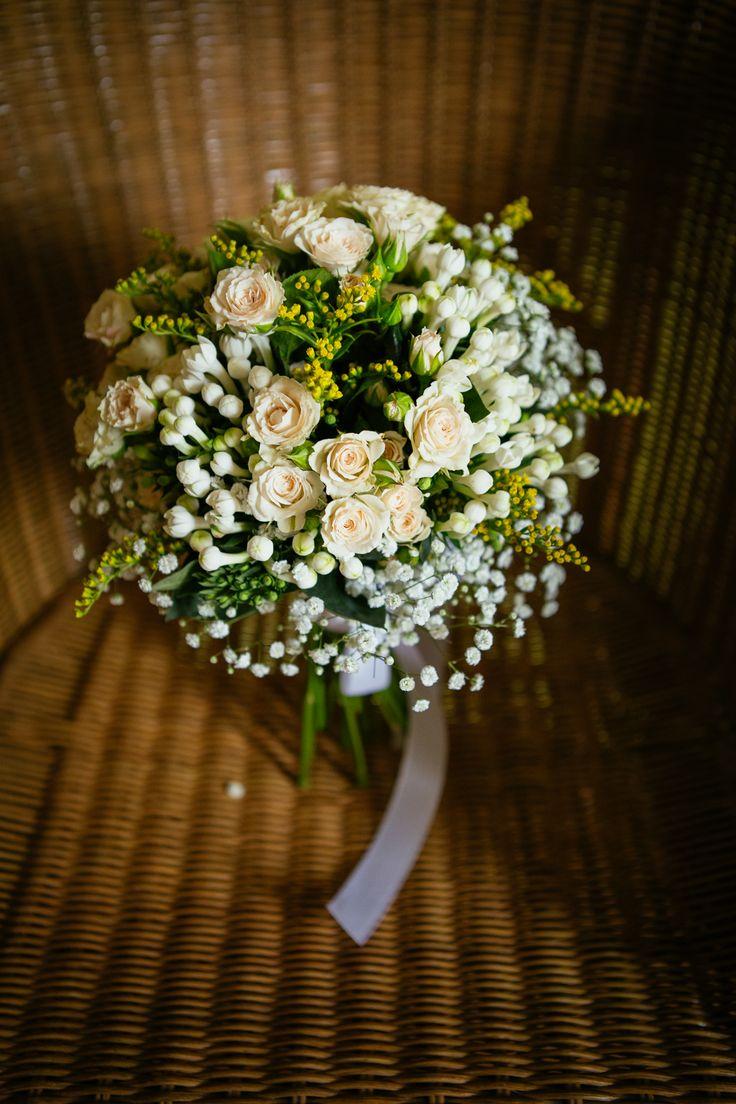 Bouquet de rosas e gipsófilas #rosas #gipsófilas #bouquet