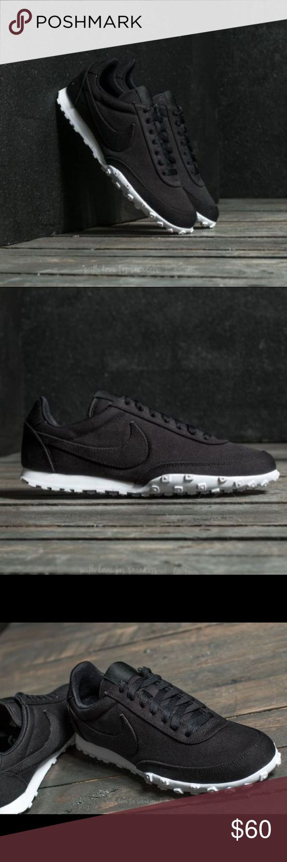 New $95 NIKE WAFFLE RACER '17 TXT Black size 9.5 New With Box $95 NIKE WAFFLE RACER '17 TXT Black in size 9.5 Nike Shoes Athletic Shoes