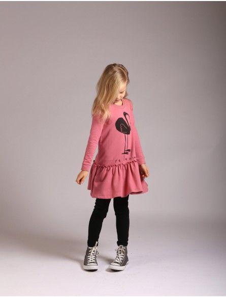 Littlehorn Chilled Flamingo Dress