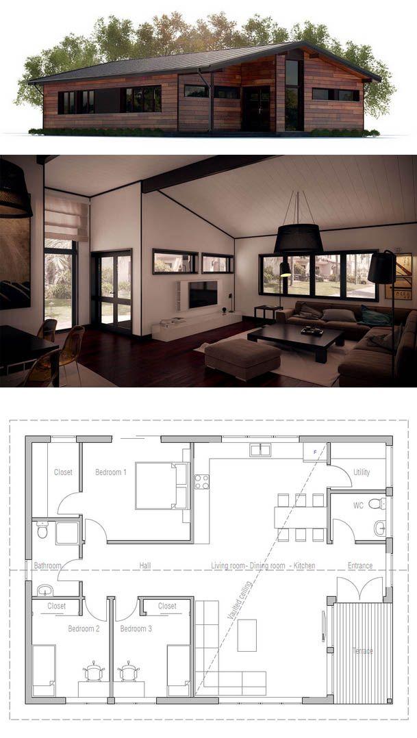 1000 imagens sobre casas pequenas no pinterest design for Antejardines de casas pequenas