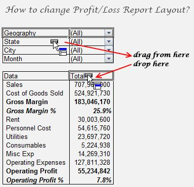 Profit And Loss Report Template Cool Inventory Management Technique