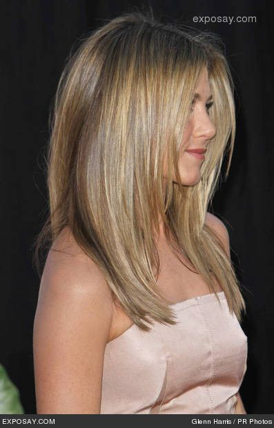 Hair cut - Jennifer Aniston in The Switch (horrible movie, great hair! ;)