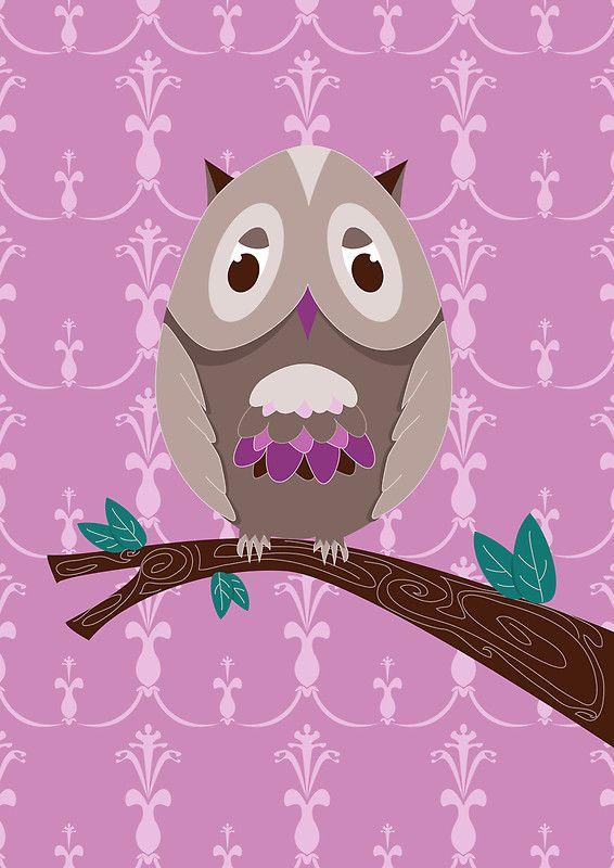 357 best owls illustrations images on pinterest owl art owl illustration and owls - Imitation origami owl ...