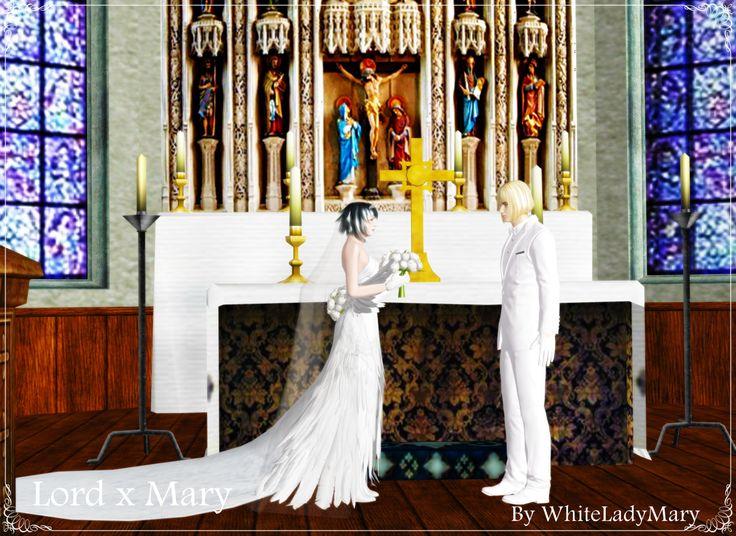 Just Married3 by WhiteLadyMary  Devil May Cry, Lady Mary , Lord Capcom, Hideki Kamiya, Hideaki Itsuno, デビルメイクライ DMC レディ デビルハンター 主 卿 大天使 刺客 卿