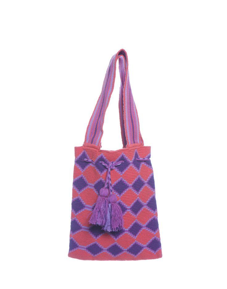 Wayuu Bag - Pink