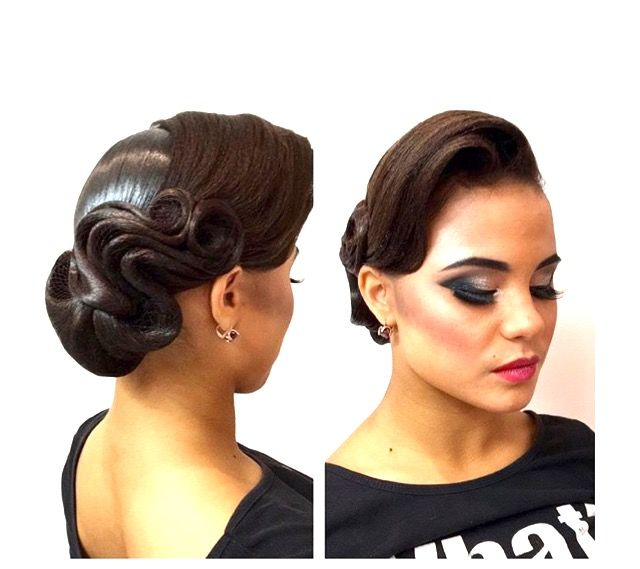 Ballroom hair & makeup