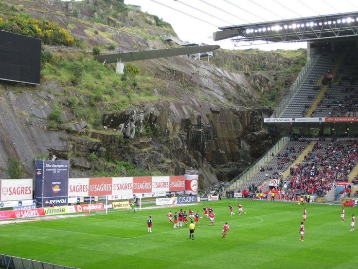 El estadio de Braga (Portugal)