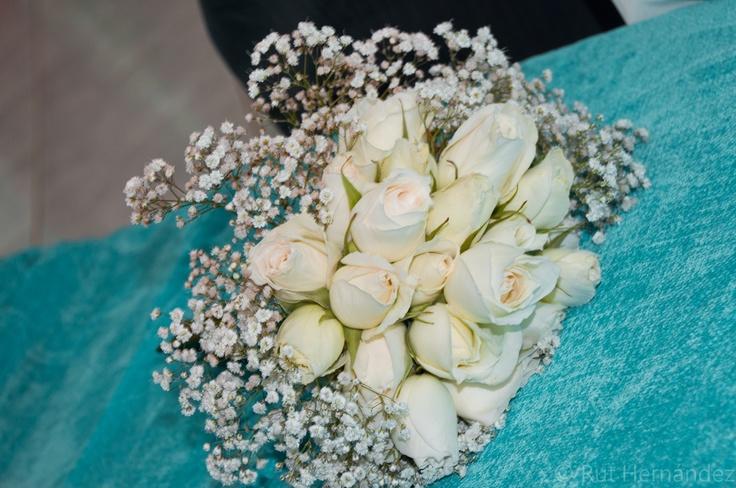 Bouquet de rosas.