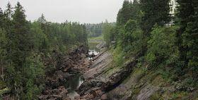 Notch of Imatrankoski rapids