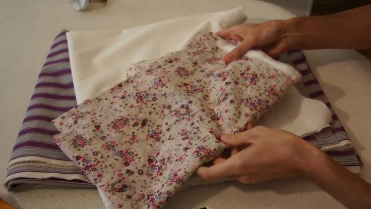 Leçon de couture : reconnaitre le sens du droit fil
