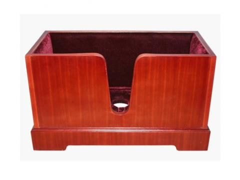 Double Bass Stand Rosewood Box Shaped - BC Wholesalers