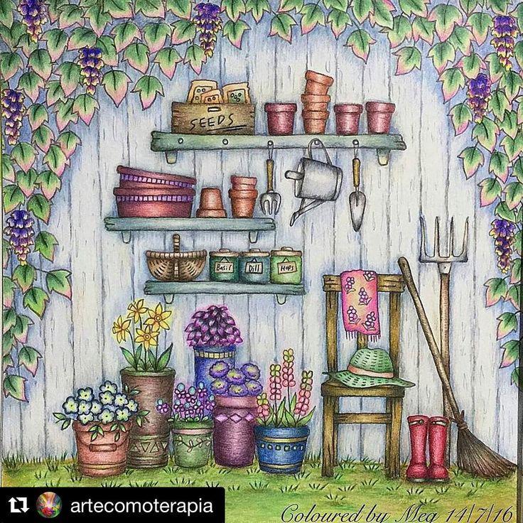 38 отметок «Нравится», 2 комментариев — Adult Coloring Books & Stuff (@coloringtoolkit) в Instagram: «#Repost @artecomoterapia with @repostapp ・・・ Lindo de viver!!!! @Regrann from @megchelsea_how -…»