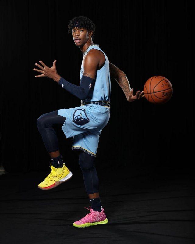 Image Result For Ja Morant Kobe Shoes Basketball Basketball Photography Nba Kings