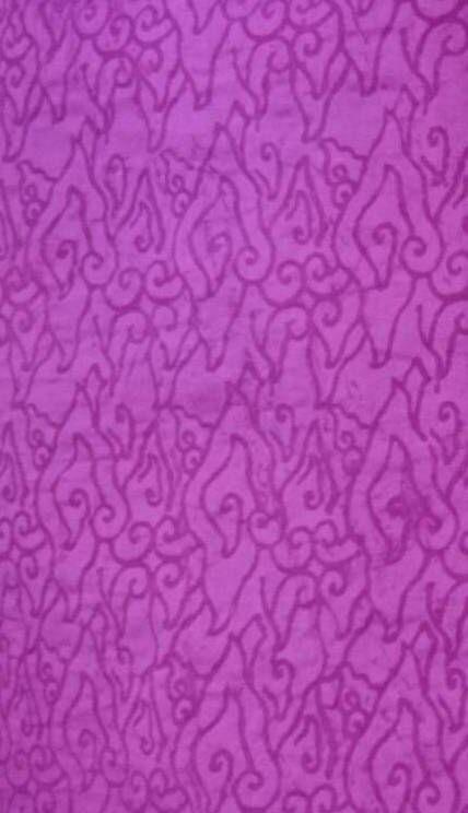 Purple embossed fabric