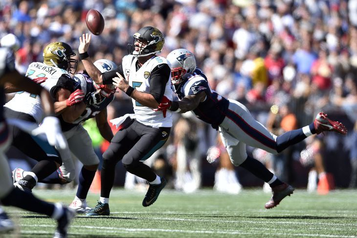 Jaguars vs. Patriots final score: Jacksonville gives up most points in franchise history By ryanday  @ryaneatscake on Sep 27, 2015, 4:29p