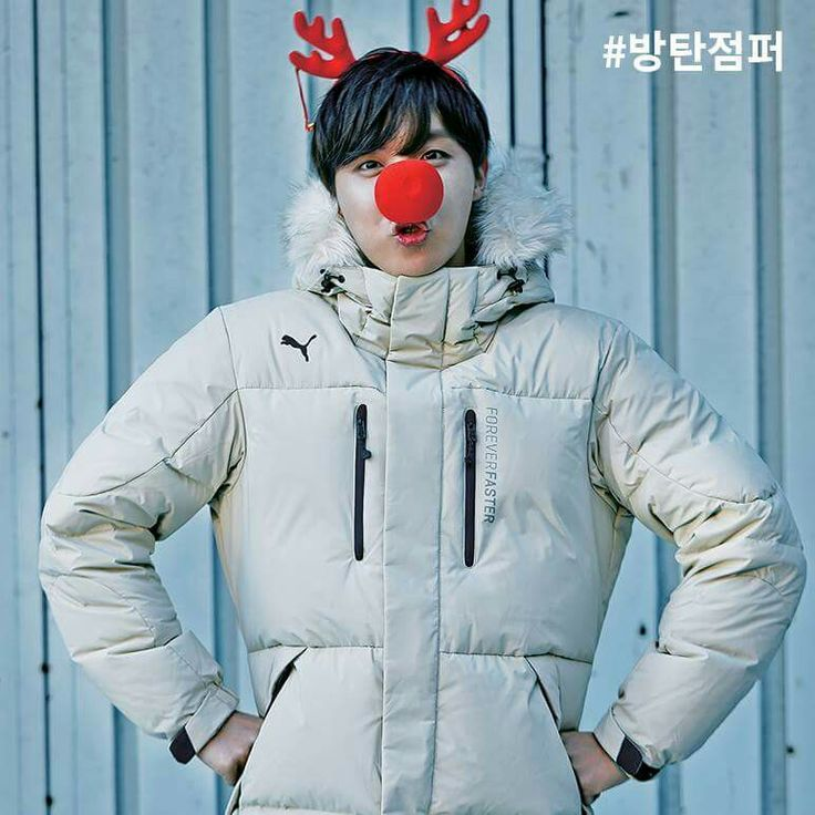 I used to sing Rudolf the reindeer as Virchow the cell life theorist but nowadays it's Hoseok the hope-filled cutie.