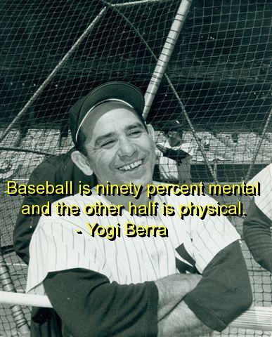 yogi berra, quotes, sayings, meaningful, cool, baseball, famous