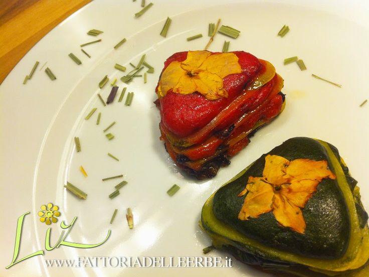 BIS DI LASAGNE GLUTEN FREE CON ERBETTE E IMPATIENS - Lasagne with herbs and #Impatiens