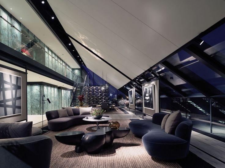 Пентхаус в Лондоне | Про дизайн|Сайт о дизайне интерьера, архитектура, красивые интерьеры, декор, стилевые направления в интерьере, интересные идеи и хэндмейд