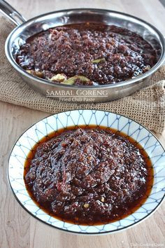 Sambal Goreng – Fried Chili Paste