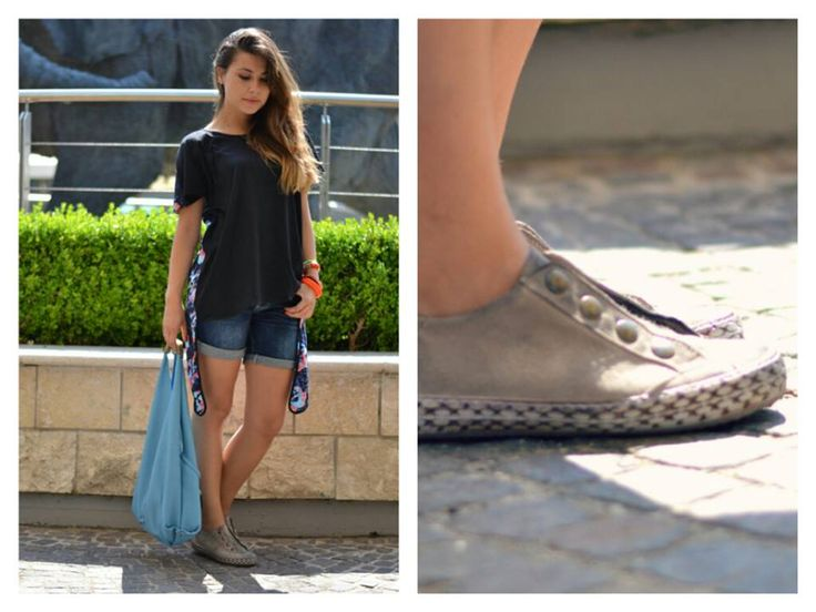 Valentina, blogger of The chic attitude blog (http://www.thechicattitude.com/) wears No Place without a genius sneakers!  Shop on line: http://shop.noplace.it/
