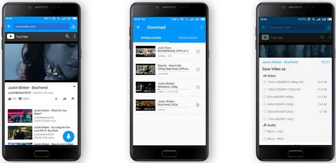 There are several YouTube video downloader apps available for free. You need to download any of those app and install on your Android device.