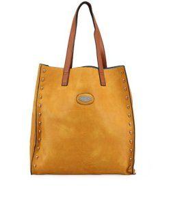 Žlutá obdélníková kabelka Maku