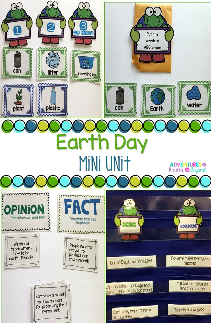 Get your students excited about Earth Day with this fun and interactive unit! These activities would be a great addition to your Earth Day plans.  Included are: * Earth Day Facts * How we Can Help * Write The Room Cards- 2 student response sheets * Fact or Opinion Sort * Interactive Notebook pages * Earth Day mini reader